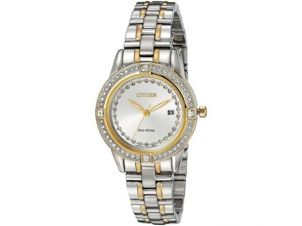 Ladies Citizen Silhouette Crystal Watch  by Citizen